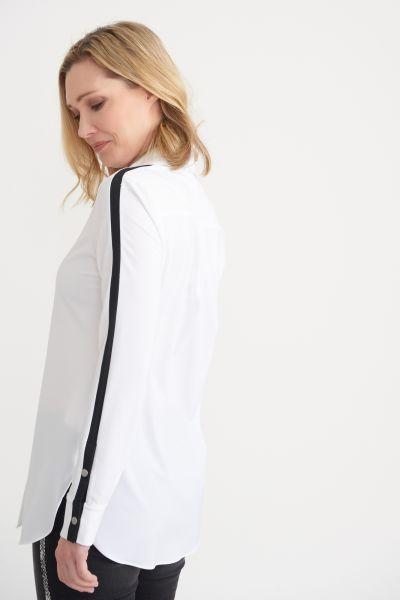 Joseph Ribkoff White Blouse Style 203086