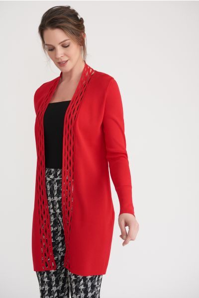 Joseph Ribkoff Red Cover Up Style 203094