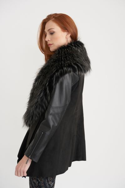 Joseph Ribkoff Black Coat Style 203116