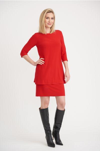 Joseph Ribkoff Lipstick Red Dress Style 203122