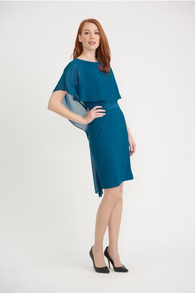 Joseph Ribkoff Peacock Dress Style 203126