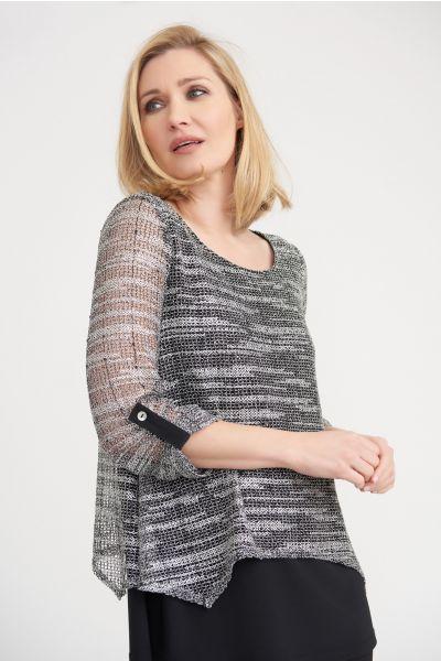 Joseph Ribkoff Grey Tunic Style 203135