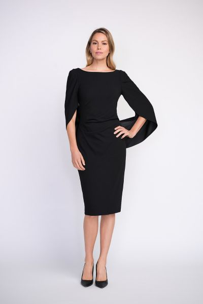 Joseph Ribkoff Black Dress Style 203145