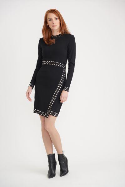 Joseph Ribkoff Black Dreess Style 203147