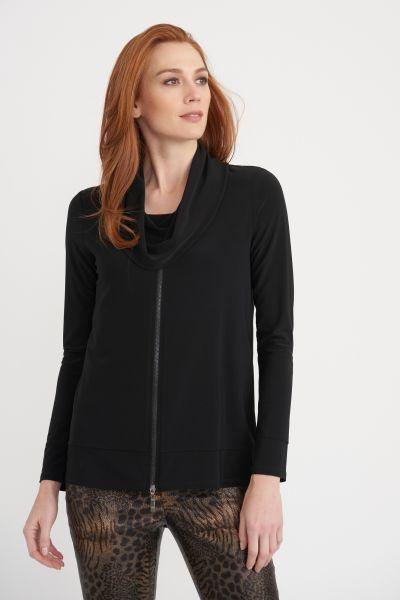 Joseph Ribkoff Black Tunic Style 203169