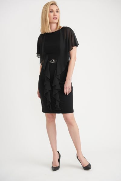 Joseph Ribkoff Black Dress Style 203196
