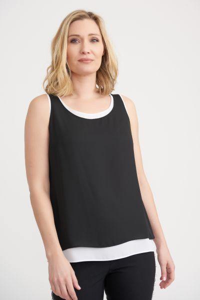 Joseph Ribkoff Black/White Camisole Style 203198