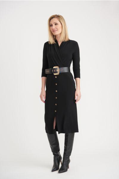 Joseph Ribkoff Black Dress Style 203202