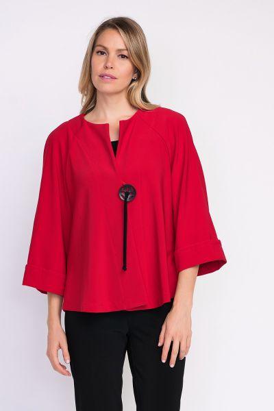 Joseph Ribkoff Red Jacket Style 203219