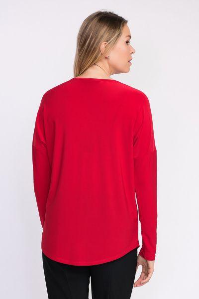 Joseph Ribkoff Red Top Style 203230