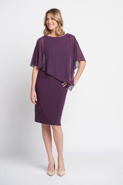 Joseph Ribkoff Amethyst Dress Style 203248