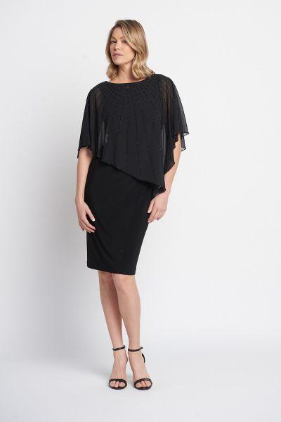 Joseph Ribkoff Black Dress Style 203248