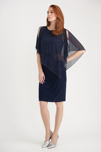 Joseph Ribkoff Midnight Dress Style 203248