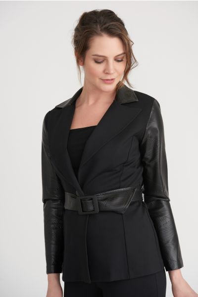 Joseph Ribkoff Black Blazer Style 203255