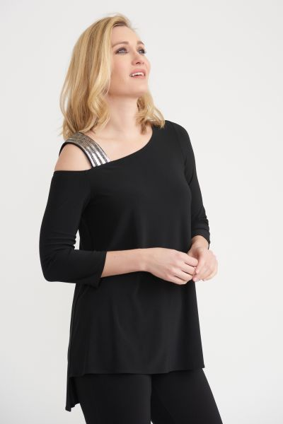 Joseph Ribkoff Black Tunic Style 203302