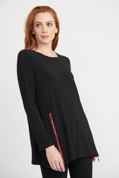 Joseph Ribkoff Black Tunic Style 203303