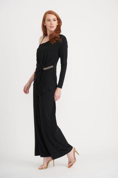 Joseph Ribkoff Black Jumpsuit Style 203310