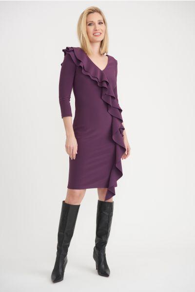 Joseph Ribkoff Amethyst Dress Style 203336