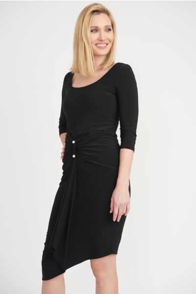 Joseph Ribkoff Black Dress Style 203338