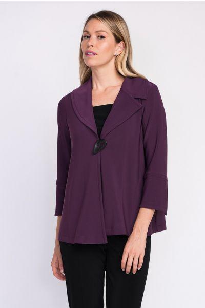 Joseph Ribkoff Amethyst Jacket Style 203348