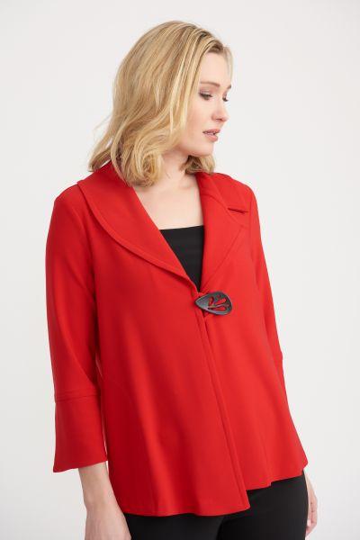 Joseph Ribkoff Red Jacket Style 203348