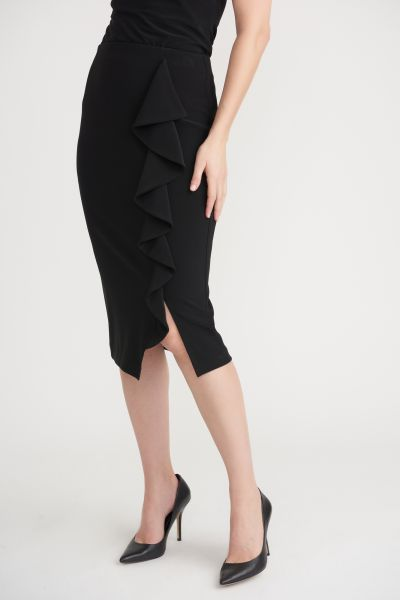 Joseph Ribkoff Black Skirt 203358