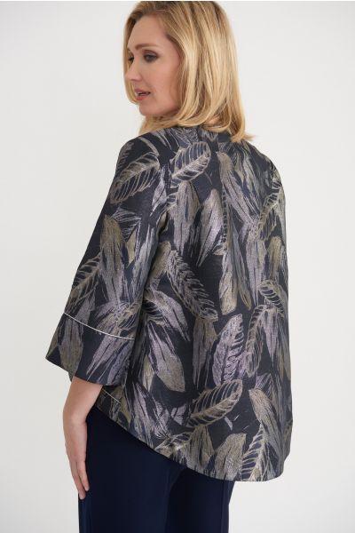 Joseph Ribkoff Grey/Multi Jacket Style 203370