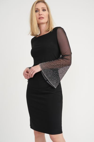 Joseph Ribkoff Black Dress Style 203372