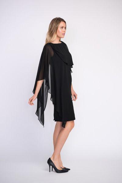 Joseph Ribkoff Black Dress Style 203449