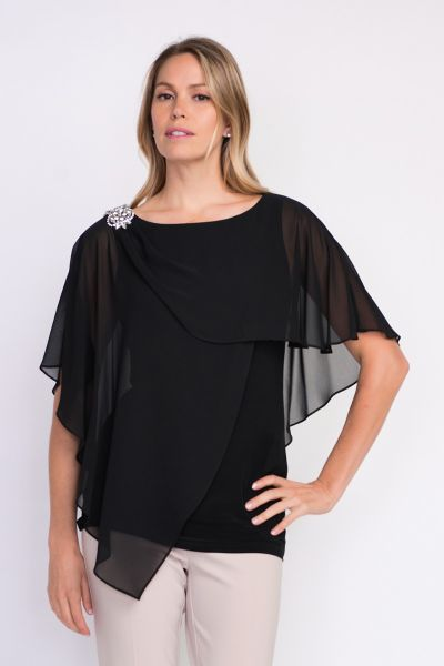 Joseph Ribkoff Black Top Style 203479