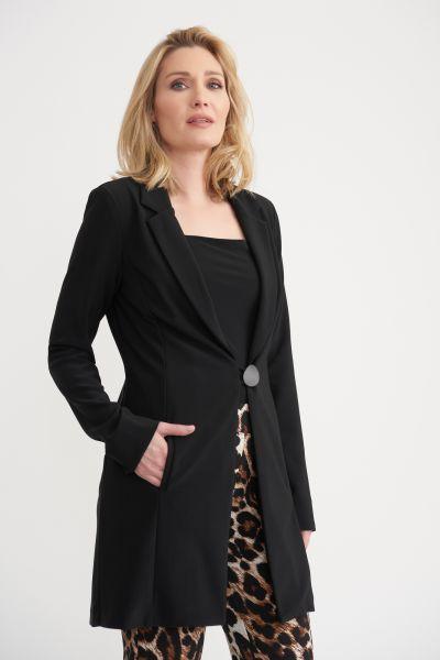 Joseph Ribkoff Black Coat Style 203491