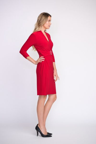 Joseph Ribkoff Red Dress Style 203503