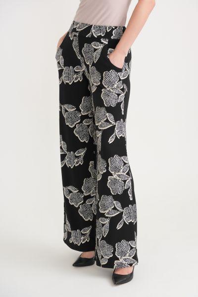 Joseph Ribkoff Black/White Pants Style 203538