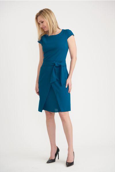Joseph Ribkoff Peacock Dress Style 203564