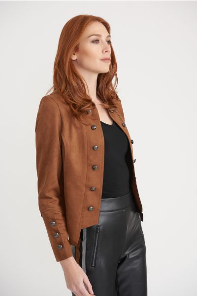 Joseph Ribkoff Brown Jacket Style 203565