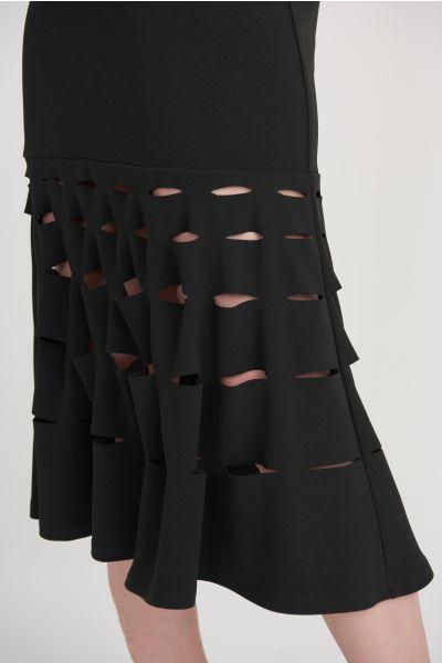 Joseph Ribkoff Black Skirt Style 203580