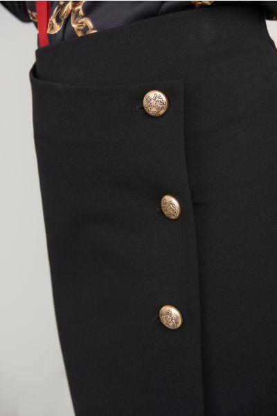 Joseph Ribkoff Black Skirt Style 203587