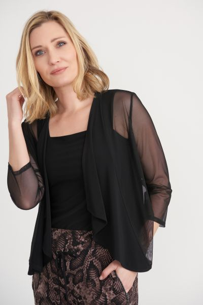 Joseph Ribkoff Black Cover Up Style 203594
