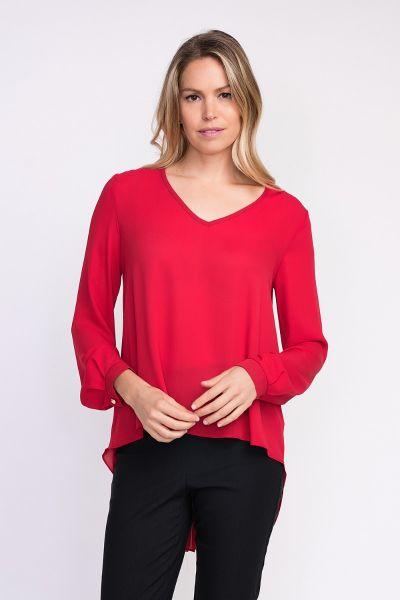 Joseph Ribkoff Red Top Style 203611