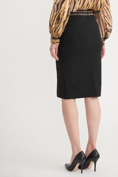 Joseph Ribkoff Black Skirt Style 203619