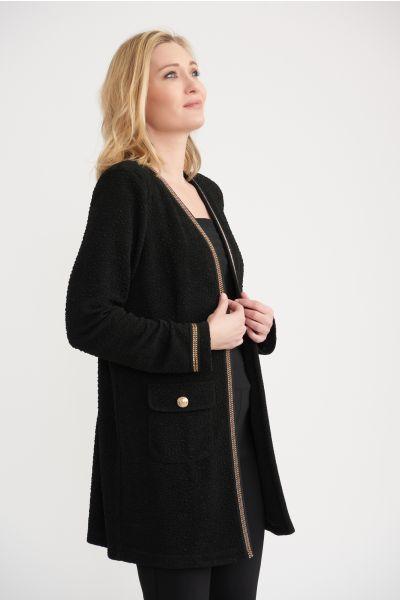 Joseph Ribkoff Black Jacket Style 203623
