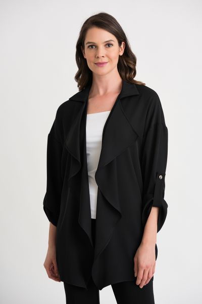 Joseph Ribkoff Black Cover Up Style 203625