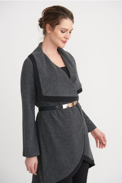 Joseph Ribkoff Charcoal Cover Up Style 203628