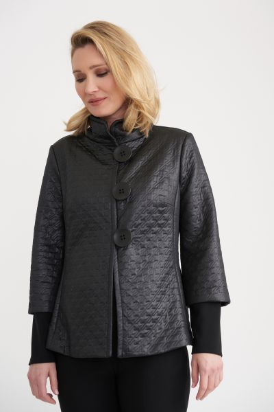 Joseph Ribkoff Black Jacket Style 203633