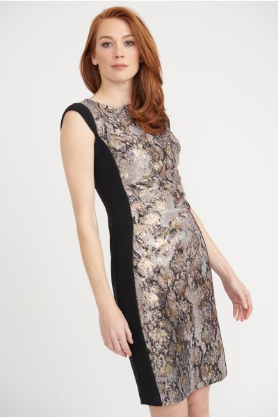 Joseph Ribkoff Multi Dress Style 203643