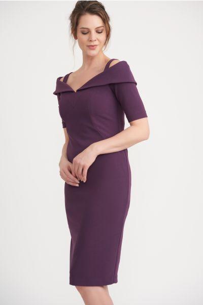 Joseph Ribkoff Amethyst  Dress Style 203645