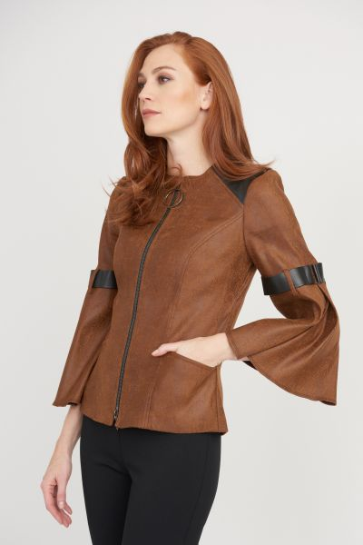 Joseph Ribkoff Cognac Jacket Style 203648