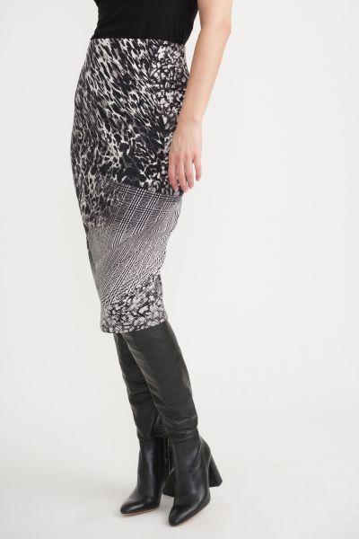 Joseph Ribkoff Black/White Skirt Style 203649