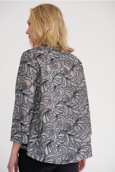 Joseph Ribkoff Black/White Jacket Style 203661