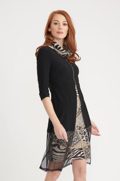 Joseph Ribkoff Black/Multi Dress Style 203692